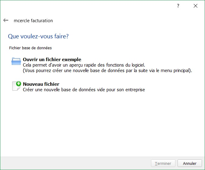 Logiciel de facturation simple